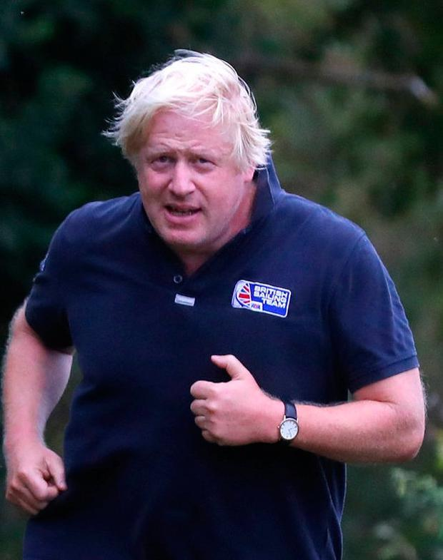 Boris Johnson will be speaking in the New Year. Photo: Reuters