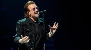 It was feared Bono might not be able to sing for years, while wife Ali was unaware of what had happened. Photo: Kevin Winter