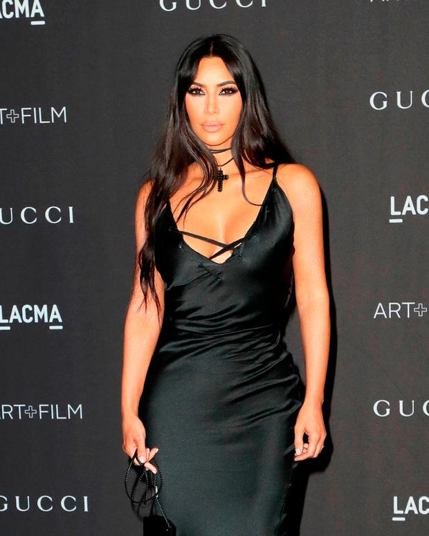 Kim Kardashian West attends 2018 LACMA Art + Film Gala honoring Catherine Opie and Guillermo del Toro presented by Gucci at LACMA on November 3, 2018 in Los Angeles, California. (Photo by David Livingston/Getty Images)