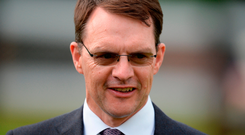 Aidan O'Brien: Three challengers. Photo by Brendan Moran/Sportsfile