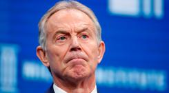 Catastrophic effects: Tony Blair is worried about the impact of Brexit. Photo: REUTERS