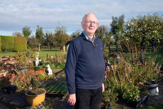 When Tom Hope found out he had prostate cancer he was shocked, but thanks to early detection he is now in good health. Pictured in his garden near Dunboyne. Photo: Tony Gavin