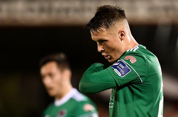 Cork City defender Sean McLoughlin. Photo: Stephen McCarthy/Sportsfile