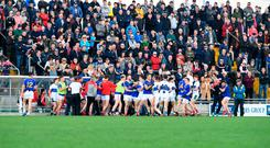 The melee during the Dingle-East Kerry game. Photo: Domnick Walsh © Eye Focus LTD