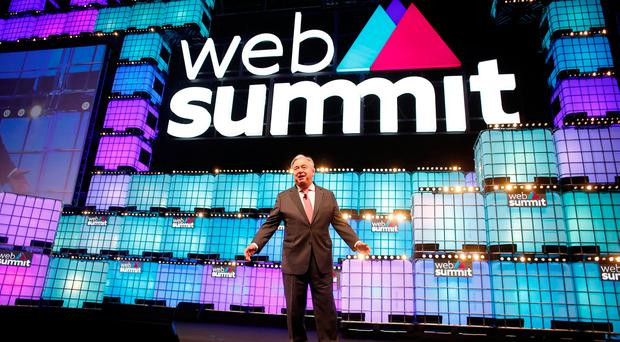 Watch: The first evening of talks as Web Summit 2018 gets underway in Lisbon