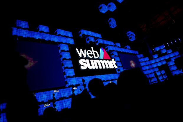 General view of the centre stage of Web Summit, Europe's biggest tech conference, in Lisbon, Portugal, November 5, 2018. REUTERS/Pedro Nunes