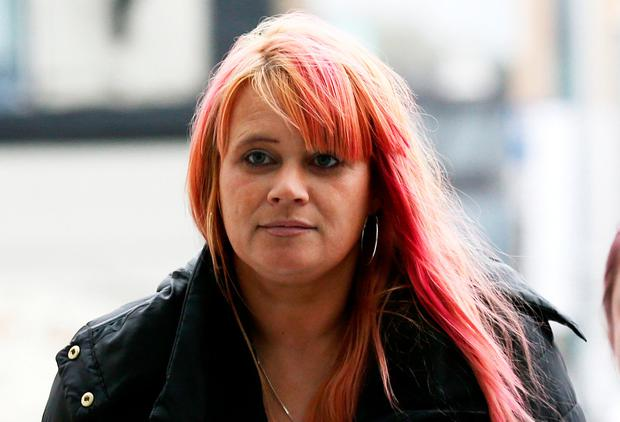 Jennifer Berry (43) at the Central Criminal Court in Dublin after her father, Oliver Berry (61) was sentenced to 10 years in prison. He was previously convicted by a jury of 104 counts of rape and sexual assault of his daughter. Photo: Collins Courts