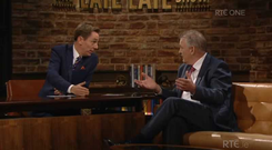 Peter Casey on The Late Late Show