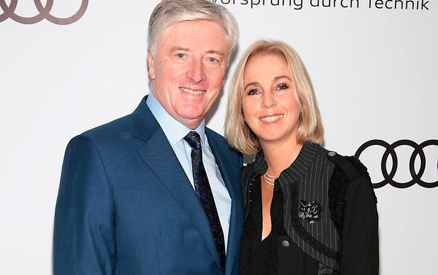 Pat Kenny and his wife, Kathy Picture: Brian McEvoy