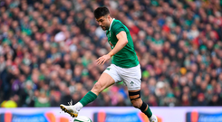 10 March 2018: Conor Murray of Ireland during the NatWest Six Nations Rugby Championship match between Ireland and Scotland at the Aviva Stadium in Dublin. Photo by Ramsey Cardy/Sportsfile