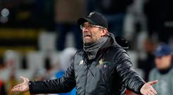 Soccer Football - Champions League - Group Stage - Group C - Crvena Zvezda v Liverpool - Rajko Mitic Stadium, Belgrade, Serbia - November 6, 2018 Liverpool manager Juergen Klopp Action images via Reuters/Paul Childs