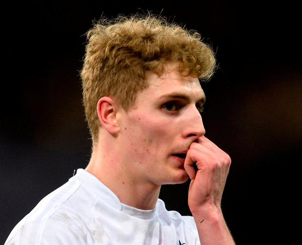 Decision time: Kildare's Daniel Flynn is considering his involvement with Lilywhites for next year's Championship. Photo: Piaras Ó Mídheach/Sportsfile