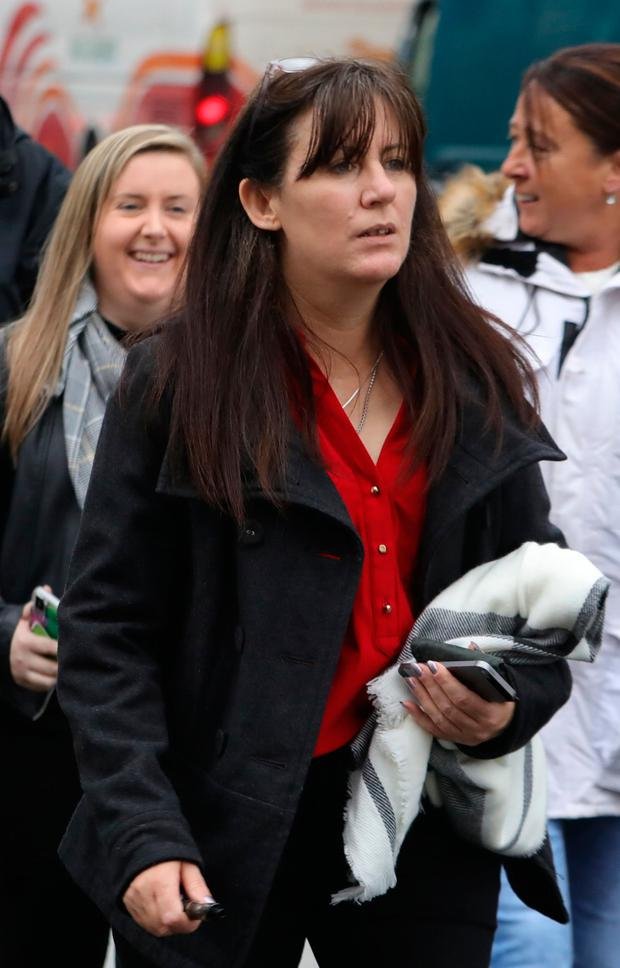 Jeanette Wosser said she had been forced out of her dad's house. Picture: Collins