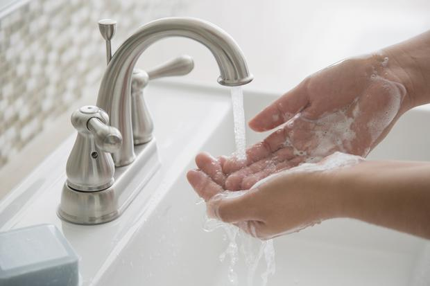 'Twice recently I found myself unable to complete the most basic tasks of washing my hands' Stock photo: Getty