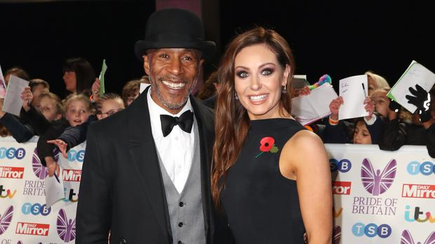 Strictly's Danny John-Jules jokes that he signed up for the 'curse' (Steve Parsons/PA)