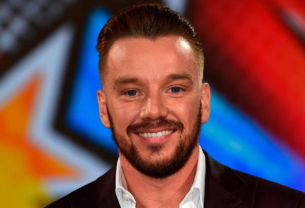 Jamie O'Hara preparing to enter the Big Brother House. Photo: Getty Images
