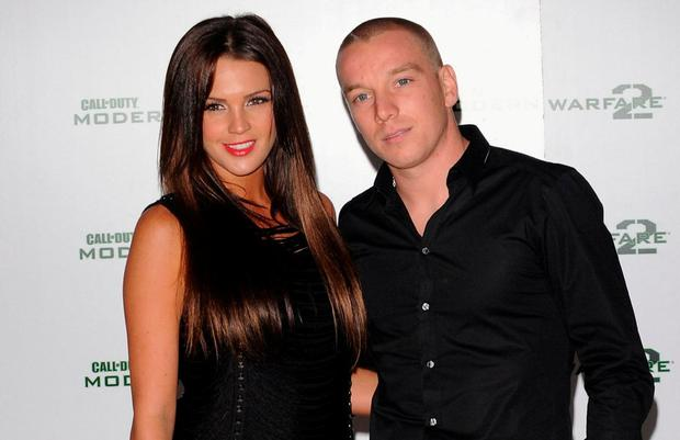 Jamie with his ex-wife Danielle Lloyd. Photo: Ian Gavan/Getty Images