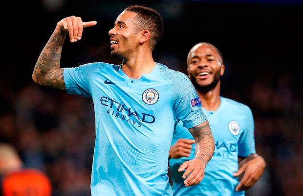HAT-TRICK: Gabriel Jesus. Photo: PA