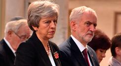 Tall order: Theresa May. Picture: Reuters
