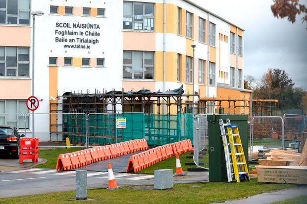 Safety row: Building work at Tyrellstown Educate Together National School in Dublin