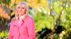 Word of caution: Miriam O'Callaghan is counting her blessings but says young men shouldn't be demonised. Photo: Gerry Mooney