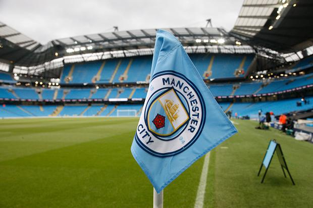 Manchester City ignored warnings from their own staff by striking a sponsorship deal with a construction company accused of mistreating migrant workers, according to leaked documents. (Photo by Alan Martin/Action Plus via Getty Images)