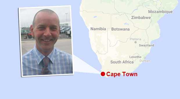 John Curran had held a senior position for the Mellon Educate charity in Cape Town