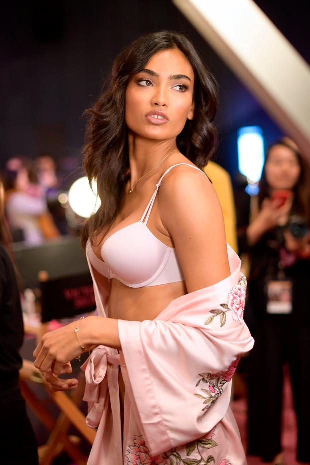 Model Kelly Gale poses during 2017 Victoria's Secret Fashion Show In Shanghai at Mercedes-Benz Arena on November 20, 2017 in Shanghai, China. (Photo by Matt Winkelmeyer/Getty Images for Victoria's Secret)