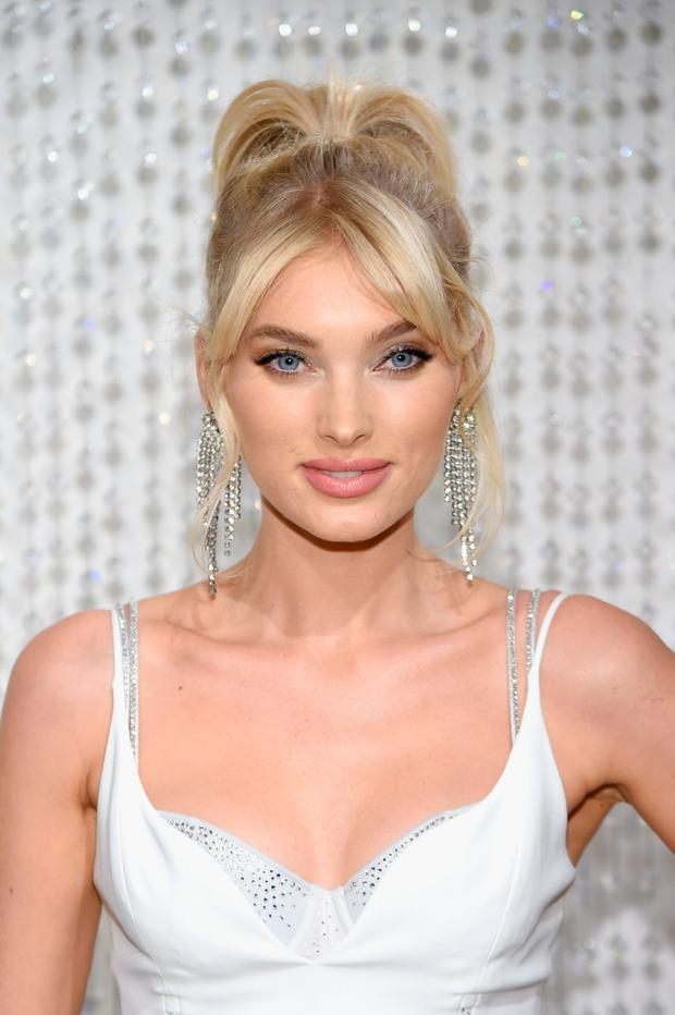 f8cab97ff46d7 Elsa Hosk wears The 2018 Dream Angels Fantasy Bra in the Victoria s Secret  fashion show on November 5