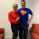 Karl Henry pictured with Anna Geary