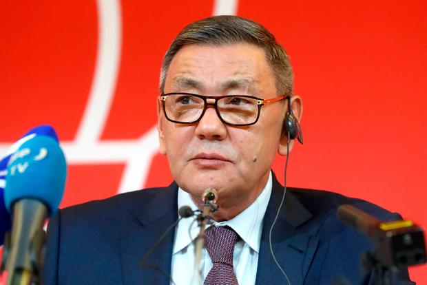 Scruntiny has come on the AIBA following the election of Gafur Rakhimov president. (Photo by Stanislav Krasilnikov\TASS via Getty Images)