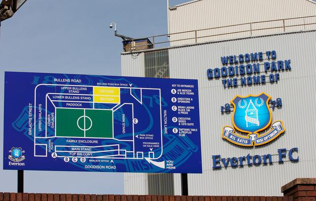 EVERTON, ENGLAND - APRIL 02: General views of Goodison Park the home ground of Everton Football Club on April 2, 2011 in Liverpool, England. (Photo by Alex Livesey/Getty Images)