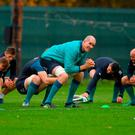 Devin Toner misses out on a starting role but is sure to make an impact from the bench, while Rory Best will be keen to take his chance to hold onto the No 2 jersey. Photo: Piaras Ó Mídheach/Sportsfile