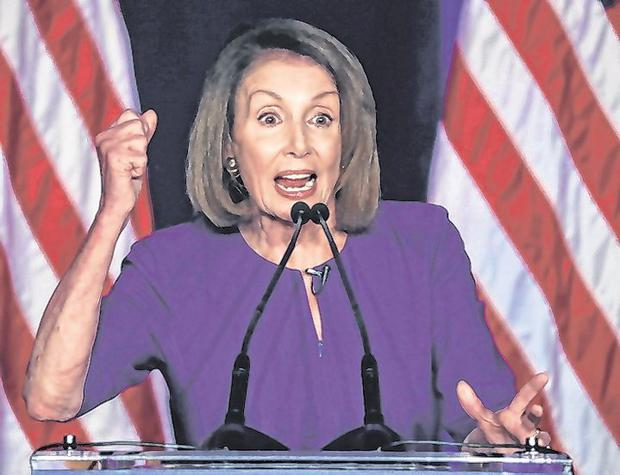 U.S. House Minority Leader Nancy Pelosi. Photo: Jonathan Ernst/Reuters