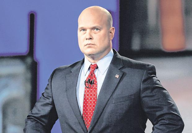 Trump loyalist: Matthew Whitaker has been named as acting attorney general. Photo: AP/Charlie Neibergall