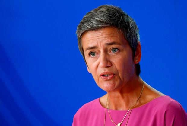 Tough: EU commissioner Margrethe Vestager. Photo: REUTERS