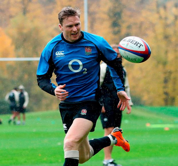 Chris Ashton: 'He's a try-getter and to beat New Zealand you have to score tries'. Photo: David Rogers/Getty Images