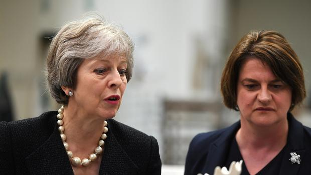 DUP accuses Theresa May of 'total betrayal' over Brexit backstop