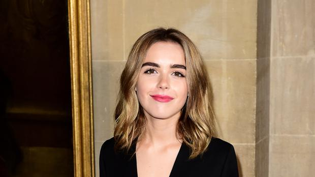 The show stars US actress Kiernan Shipka as Sabrina Spellman (Ian West/PA)