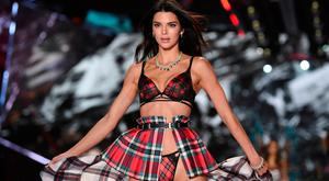 Model Kendall Jenner walks the runway during the 2018 Victoria's Secret Fashion Show at Pier 94 on Thursday, Nov. 8, 2018, in New York. (Photo by Evan Agostini/Invision/AP)
