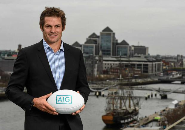 AIG Ambassador, Richie McCaw was speaking ahead of the All Blacks visit to Ireland