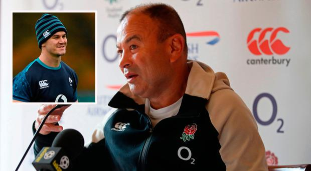 'If he was Johnny Sexton then we'd be able to complain about him' - Eddie Jones takes another swipe at Irishman