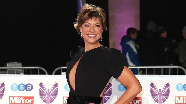 Kate Silverton is bidding to make it to Blackpool on Strictly (Steve Parsons/PA)