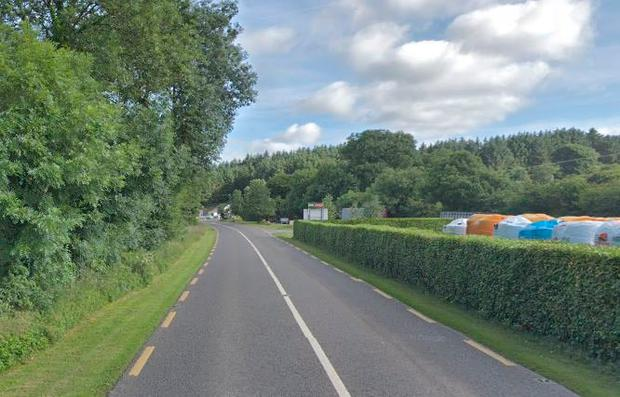 The incident occurred at Ballinascarthy on the main Bandon - Clonakilty road (Photo; Google Maps)
