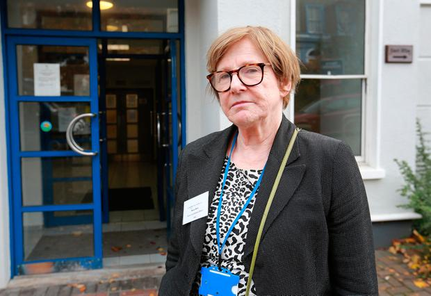 Defiant: Dr Maeve White is a community medical officer in Dublin. Photo: Frank McGrath