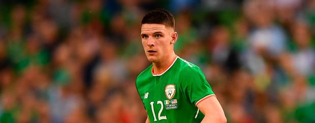 Declan Rice. Photo: Sportsfile