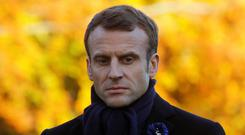 Emmanuel Macron is having a difficult November. Photo: Philippe Wojazer