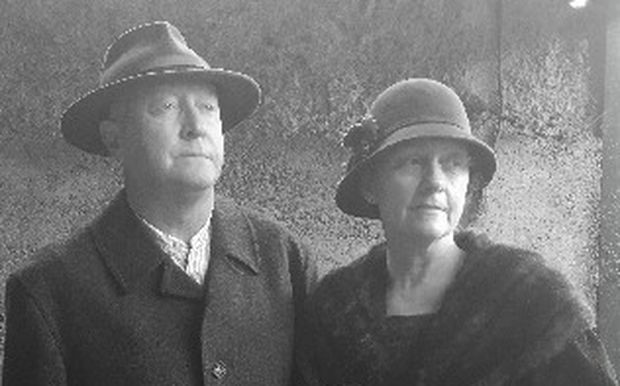 Simone Hickey and her husband Tom will walk in period dress representing Emily Barlow & R.W. Morrison in the procession in Sligo on Sunday