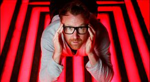 Jason Byrne, who separated from his wife at the start of the year, says he'd 'never turn to drink and drugs because it would ruin my job'. Photo: David Conachy