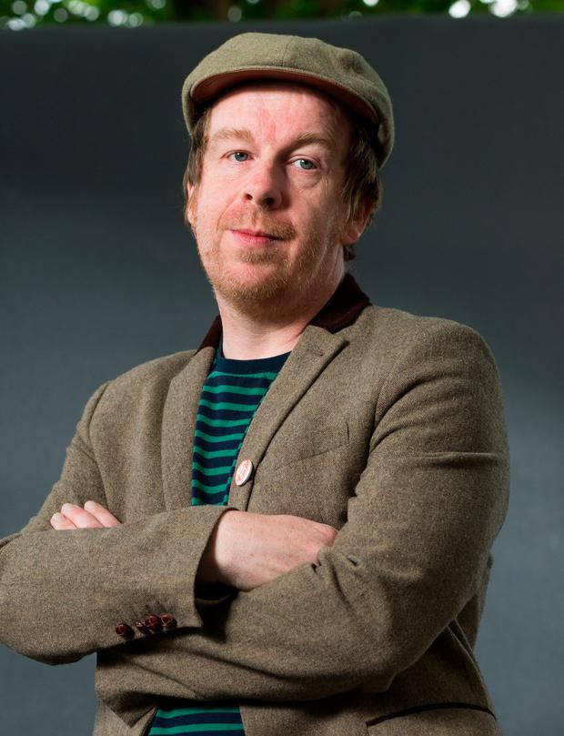 Winter Papers, the arts anthology, is curated by Kevin Barry (pictured) and his wife Olivia Smith